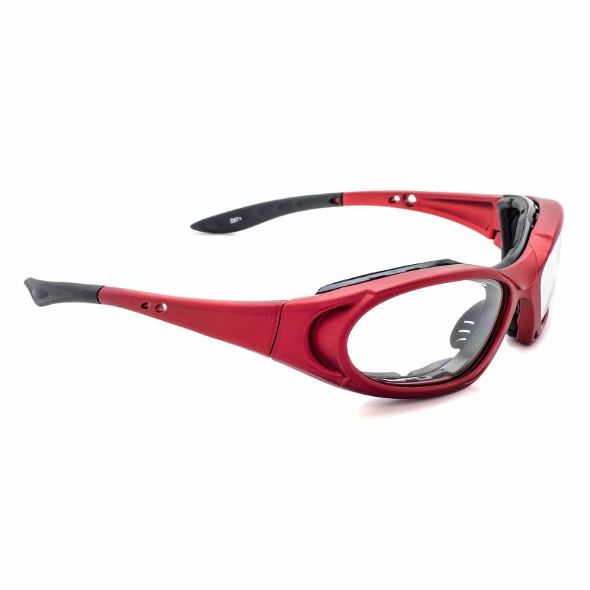 Model 1171 Radiation Glasses - Red