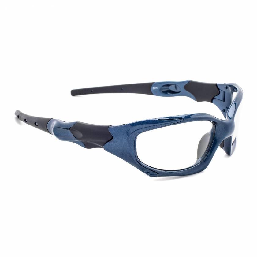 Model 1205 Radiation Glasses - Blue