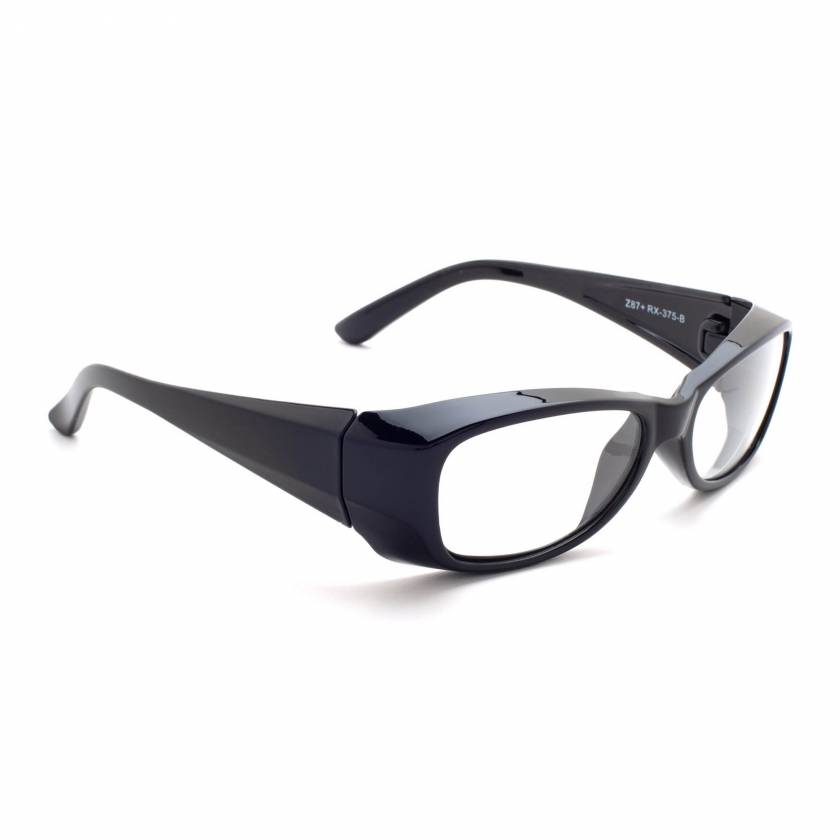 Model 375 Radiation Glasses - Black