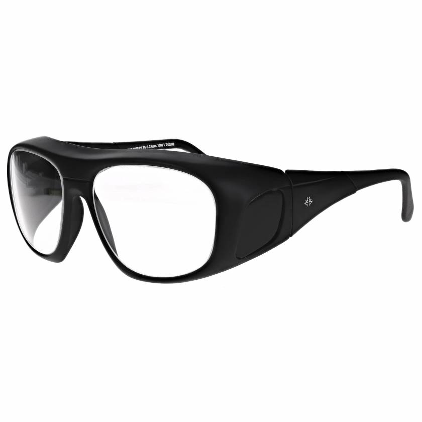 Fit Over Radiation Glasses Model 38 - Black