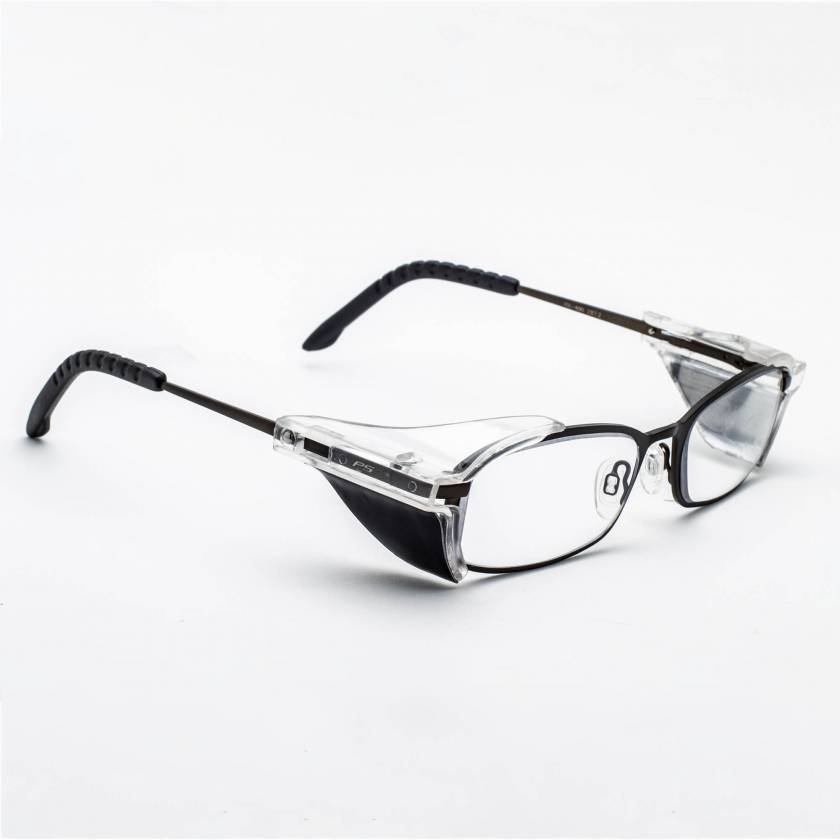 Model 400 Metal Framed Radiation Glasses - Black