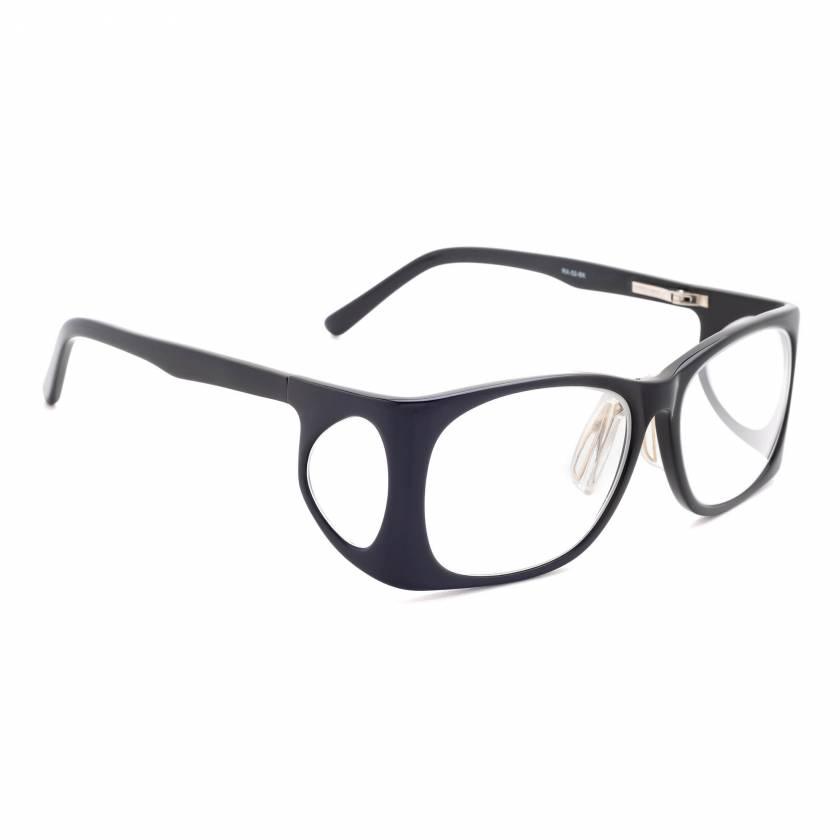 RG-52-BK Plastic Wrap Radiation Glasses Model 52 - Black