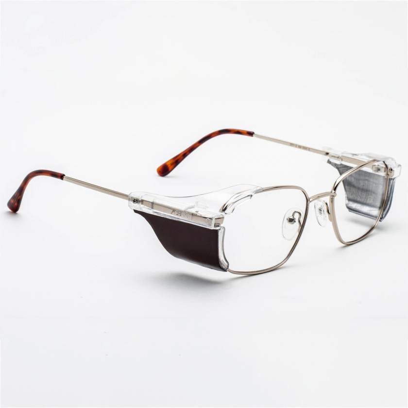RG-553 Metal Frame Radiation Glasses - Antique Gold