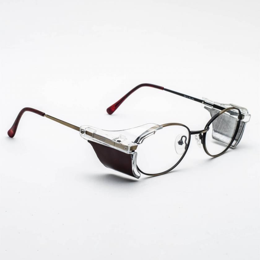 Model 554 Radiation Glasses - Gold