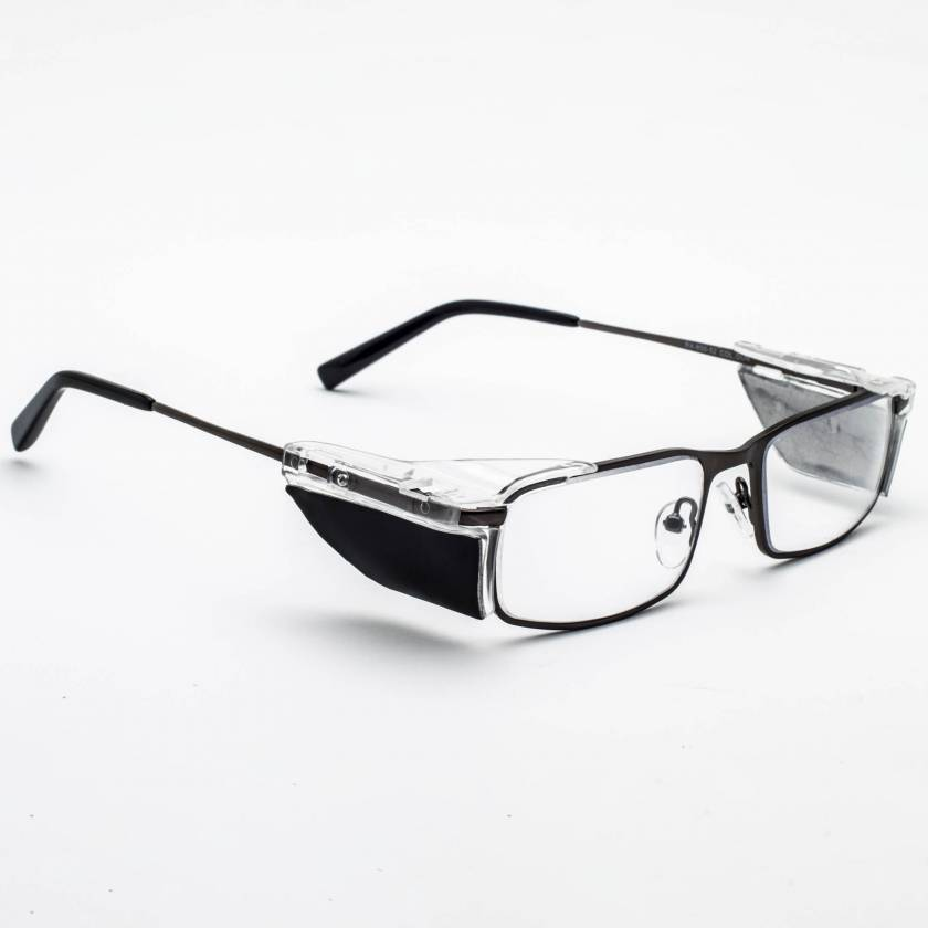 RG-850 Metal Frame Radiation Glasses Black
