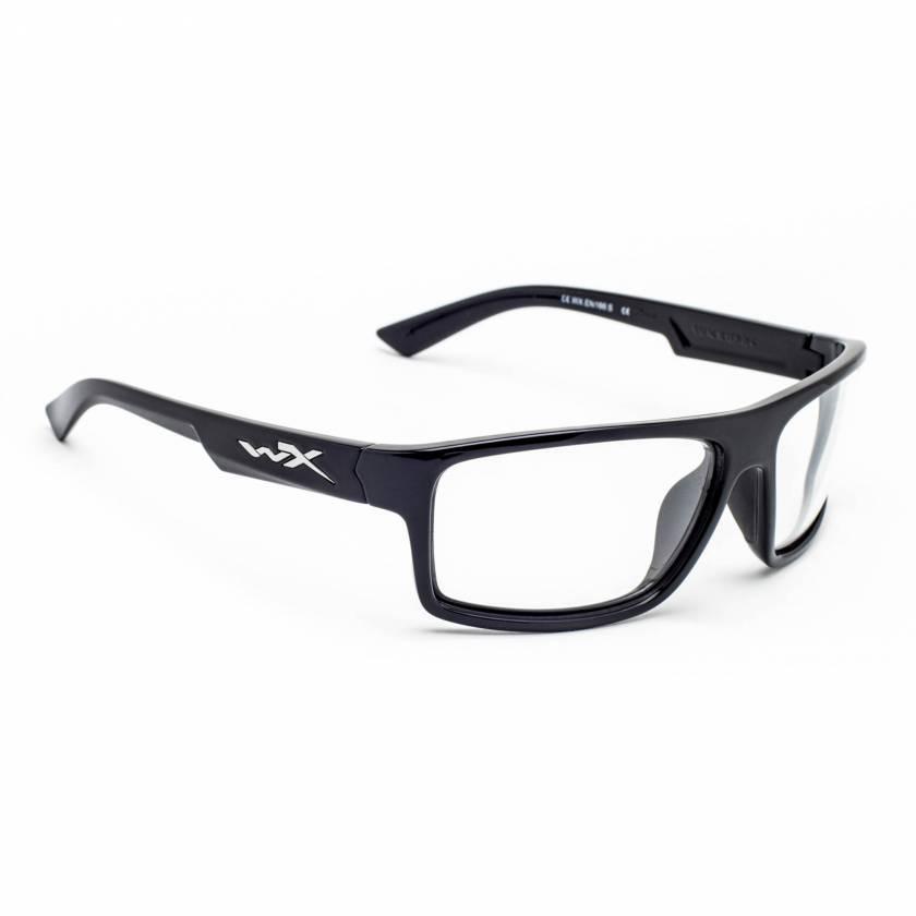 Wiley X Peak Radiation Glasses - Gloss Black