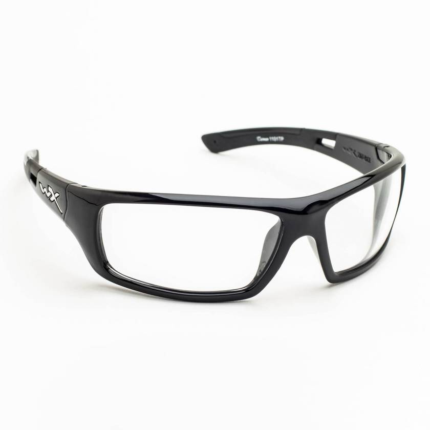 Wiley X Slay Radiation Glasses - Gloss Black