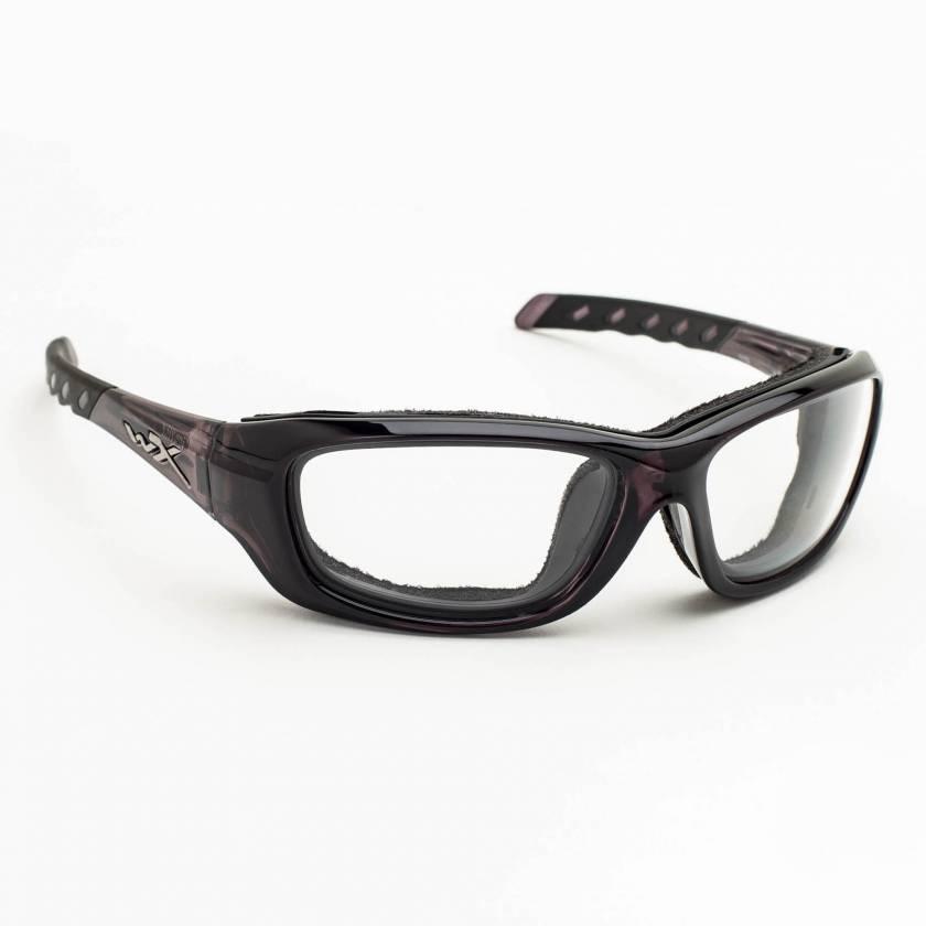 Wiley X Gravity Radiation Glasses - Black Crystal
