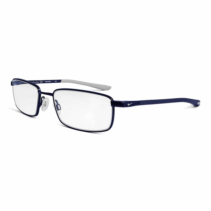 Nike 4301 Radiation Glasses - Satin Navy Wolf Grey 406