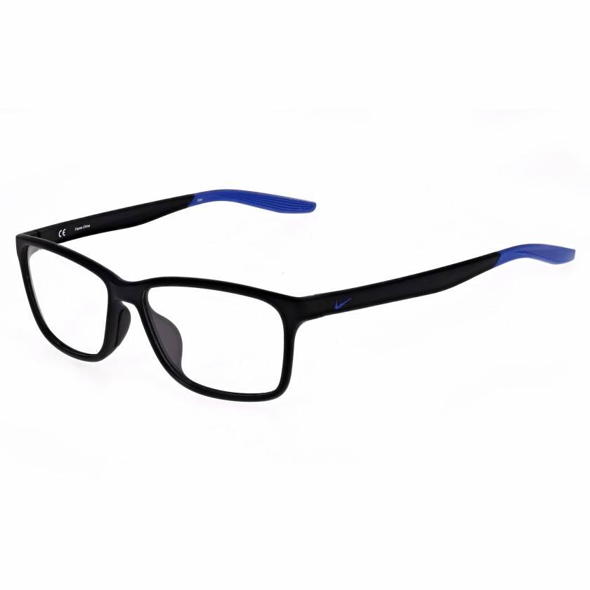 Nike 7118 Radiation Glasses - Matte Black Racer Blue 008