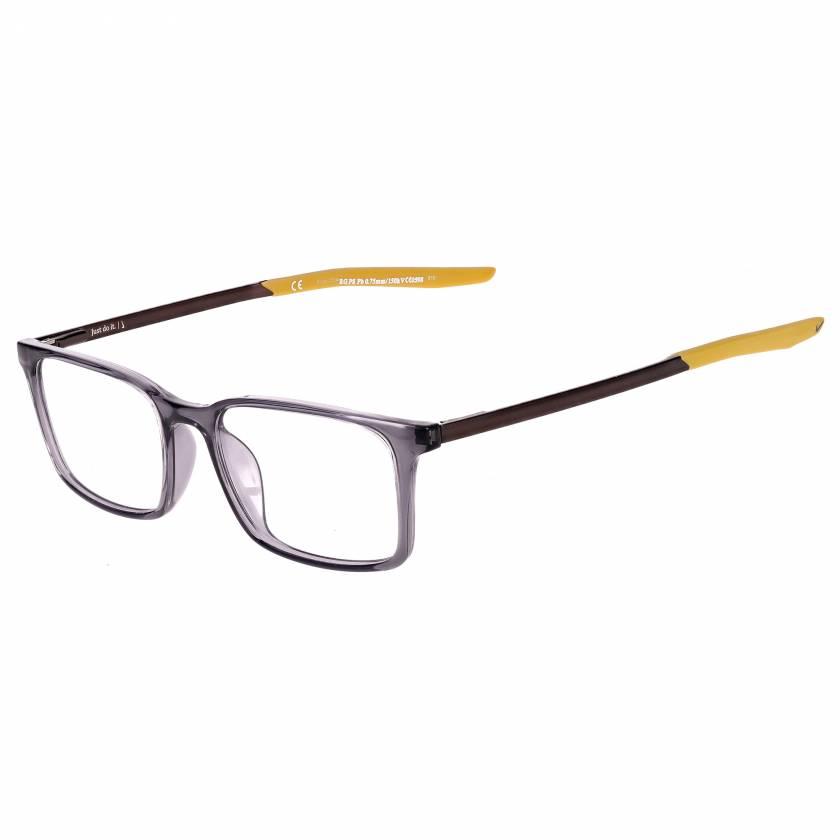 Nike 7282 Radiation Glasses - Dark Grey/Saffron Quartz 037