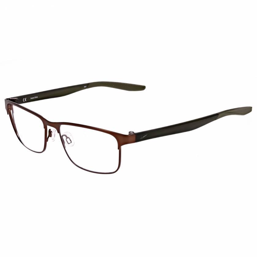 Nike 8130 Radiation Glasses - Satin Walnut/Medium Olive 210