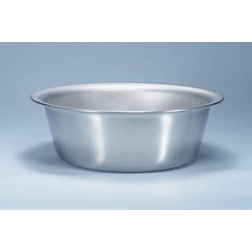Stainless Steel Solution Basin - 8 1/2 Quart Capacity