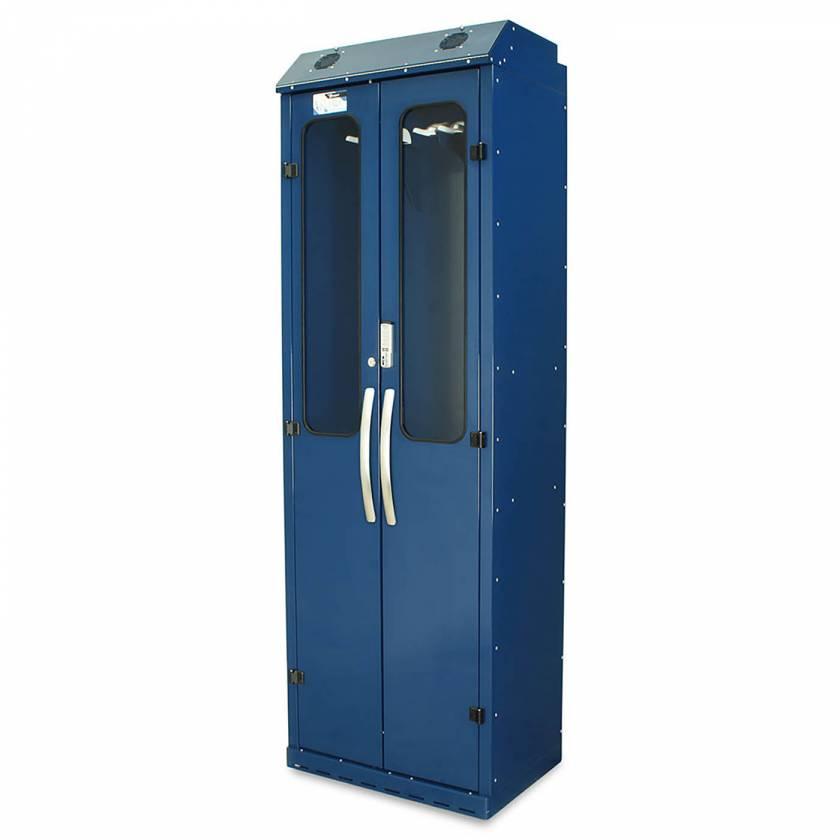 Harloff SC8030DREDP Powder Coated Steel SureDry 10 Scope Drying Cabinet - Basic Electronic Push Button Locking Tempered Glass Doors