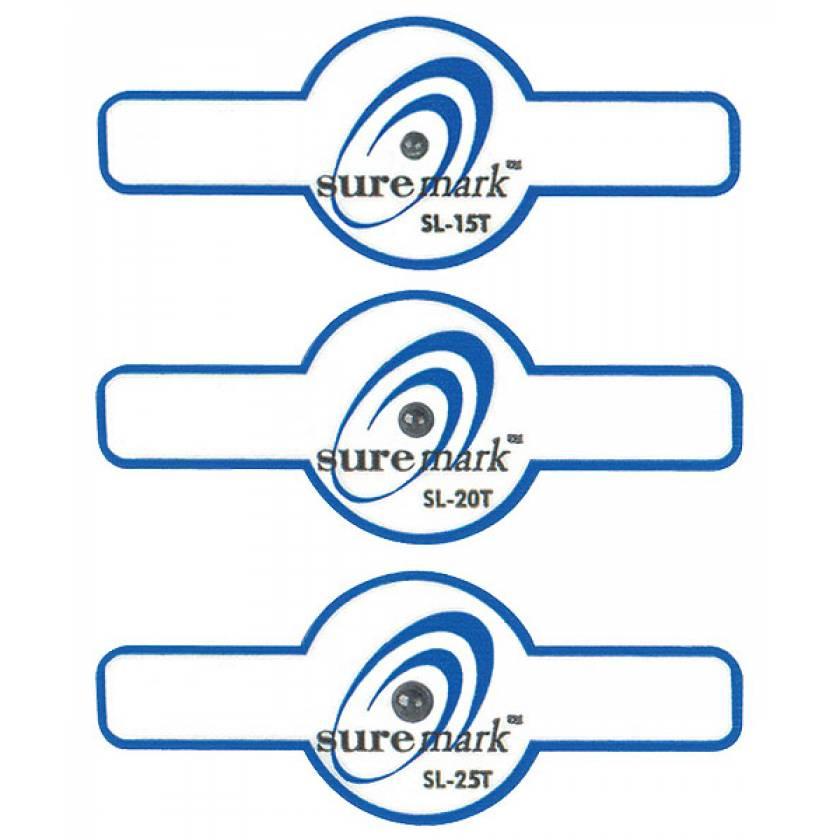 Suremark Tab Lead Ball Nipple Marker on Tabbed  Label