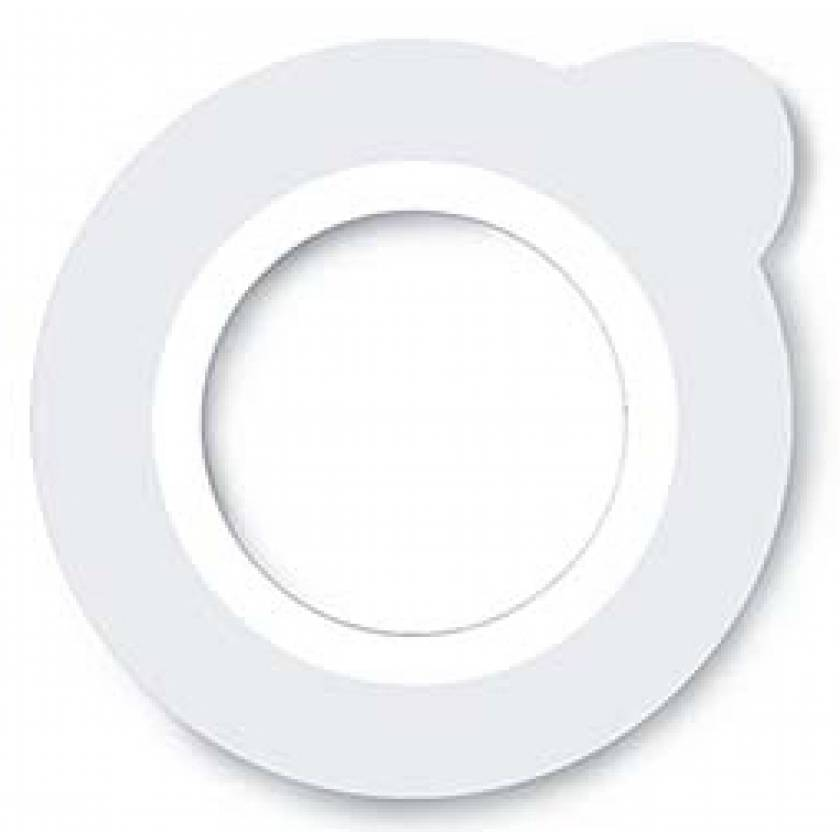 Suremark Clearmark Metal Free Semi-Lucent O Ring Mole Marker