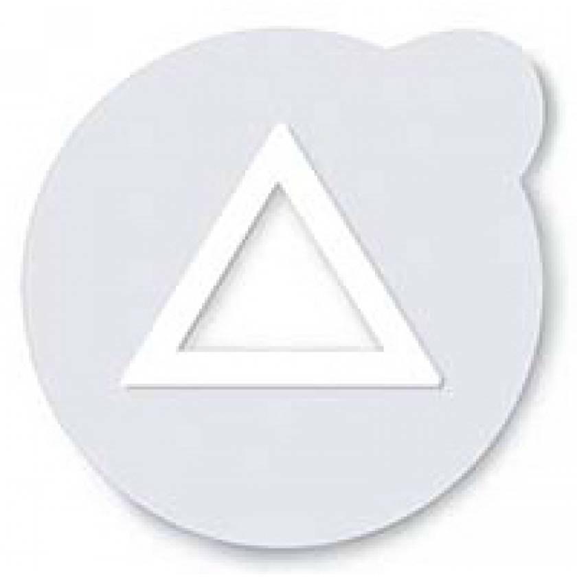 Suremark Clearmark Metal Free Semi-Lucent Triangle Marker