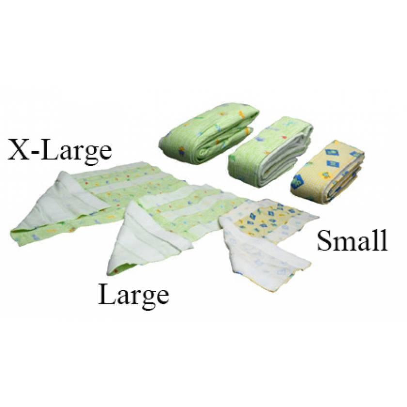 Velcro Flannel Blanket - Extra Large - 43 x 73 cm