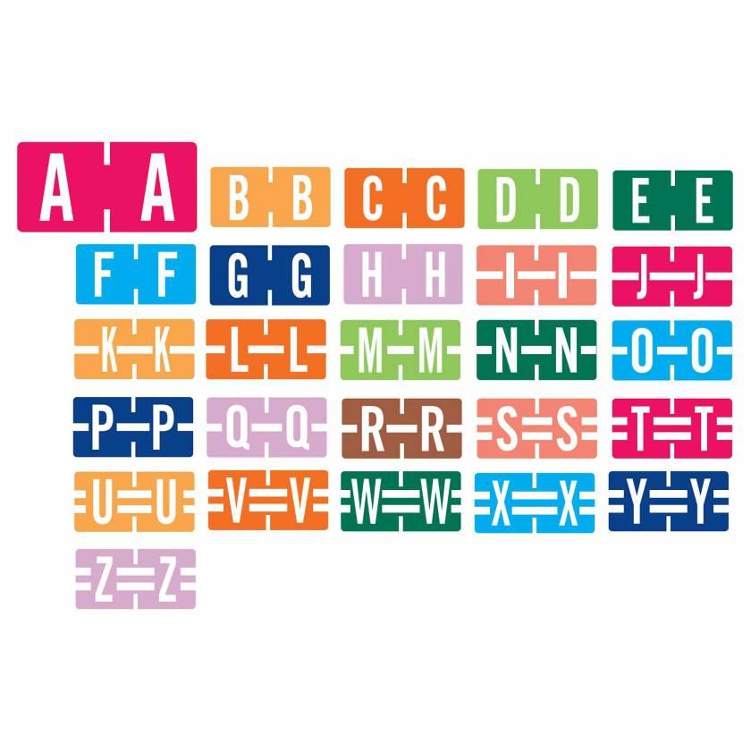 "Tab Products Match TBAV Series Alpha Roll Labels - 1/2""H x 1""W"