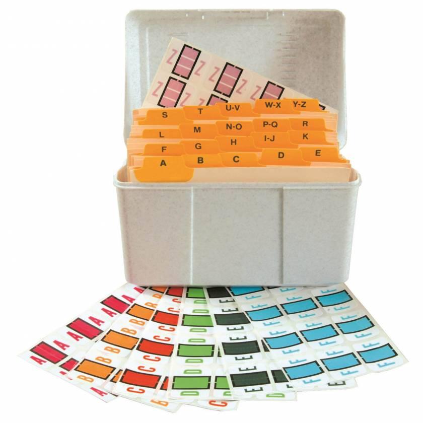 TPPK-DSET Smead BCCS Match TPPK Series Alpha Sheet Labels - A to Z Desk Set