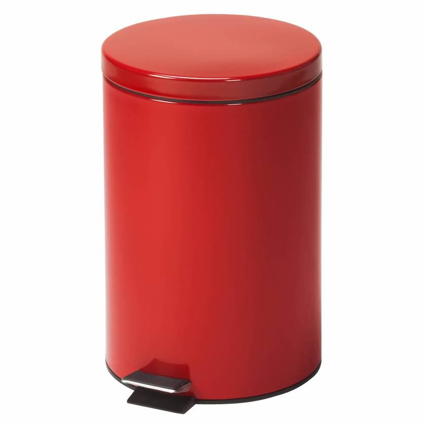 Clinton Model TR-20R Medium Round Red Waste Receptacle - 20 Quart (5 Gal)