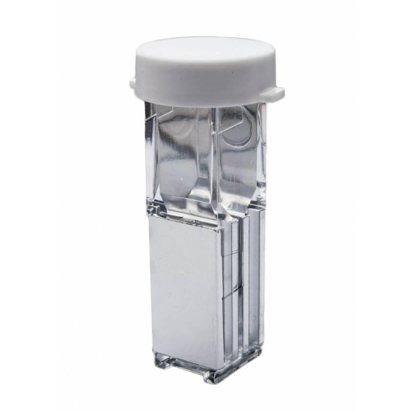 1 mm Gap Sterile Electroporation Cuvette - Round Lid