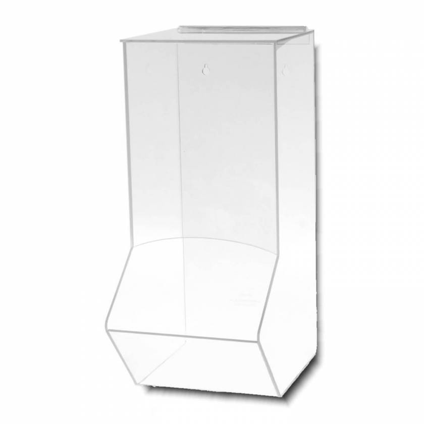 Acrylic Wall Dispenser