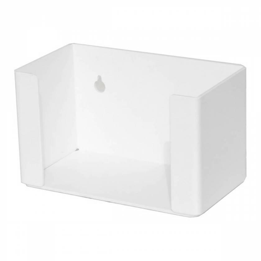 "UM3215 Single Box Face Mask Dispenser - 7.5"" W x 4.5"" H x 4"" D"