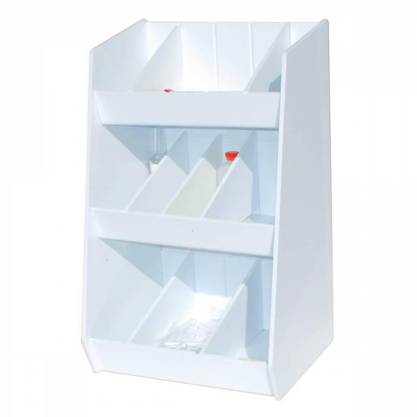 UM3303 Adjustable Storage with Ten Bins