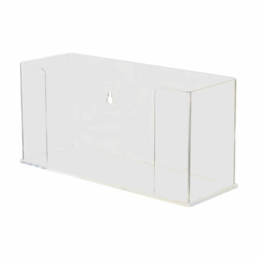 Clear Acrylic Tri Fold Paper Towel Dispenser