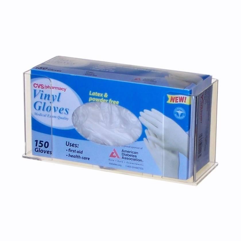 Acrylic Single Glove Box Holder UM4535