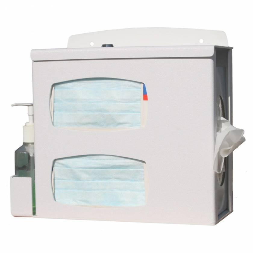 Compact Locking Respiratory Hygiene Station UM4801