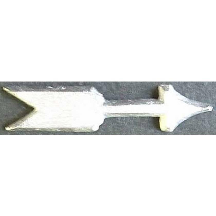 Unmounted Lead Arrows