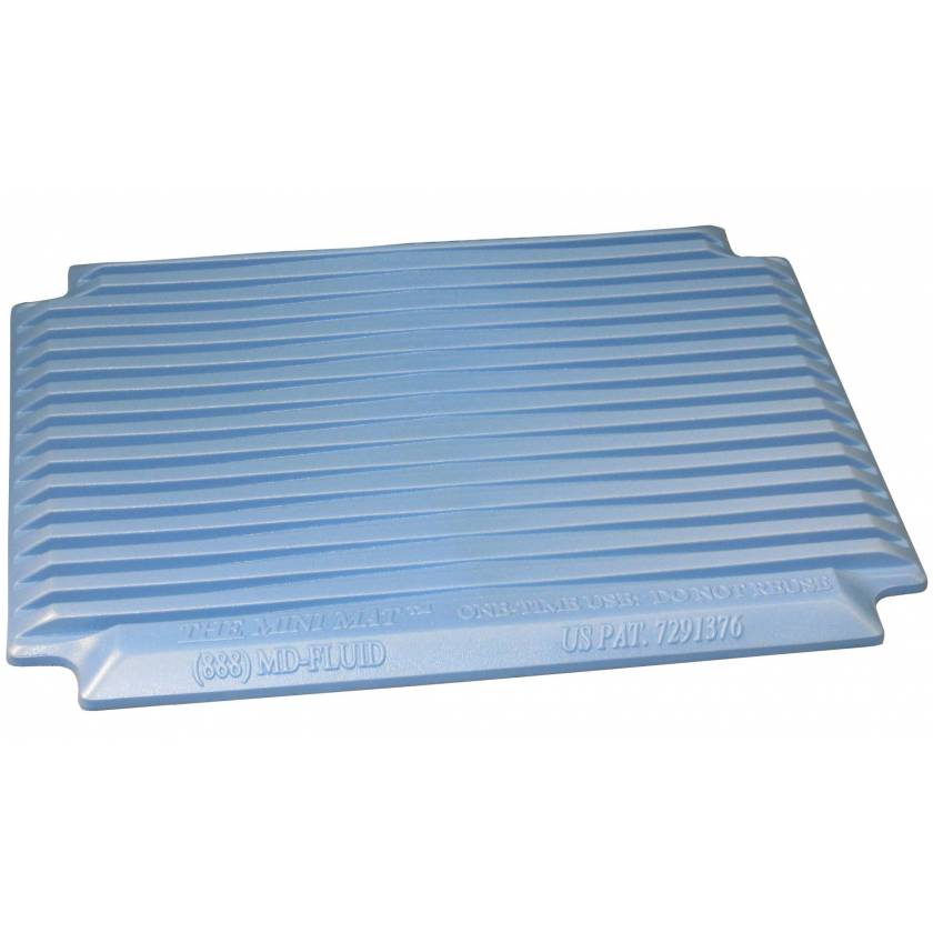 Disposable Mini Mat for Step Stool Use