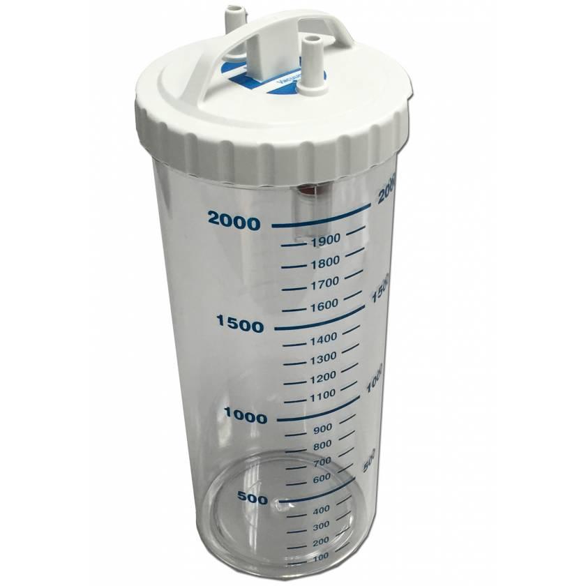 2L Polycarbonate (PC) Collection Bottle - Graduated