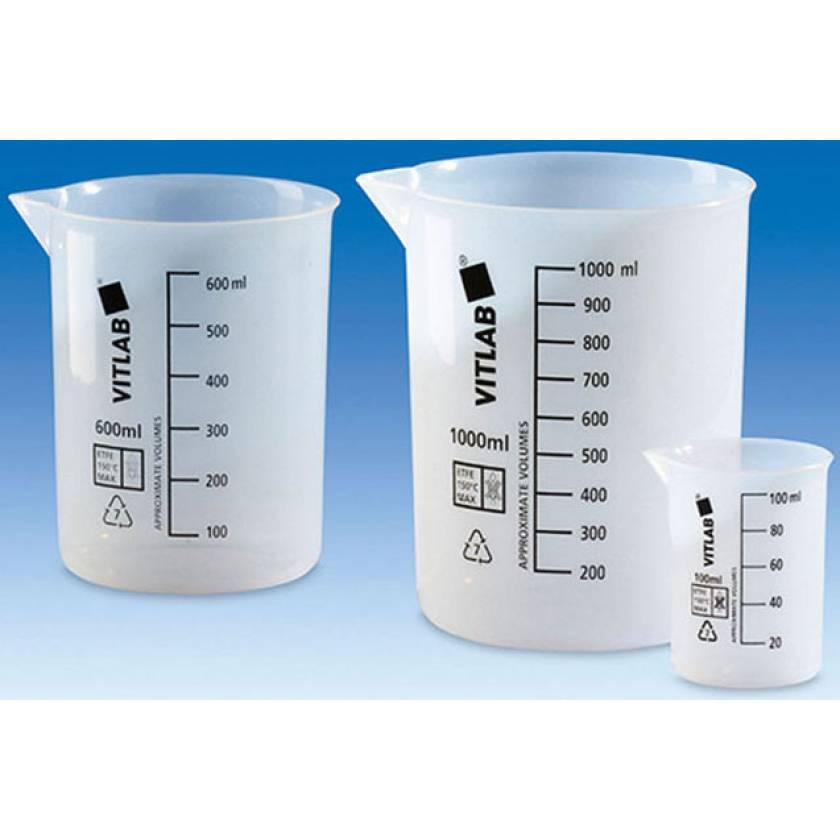 BrandTech VITLAB Griffin Beakers - Ethylene Tetrafluoroethylene (ETFE)