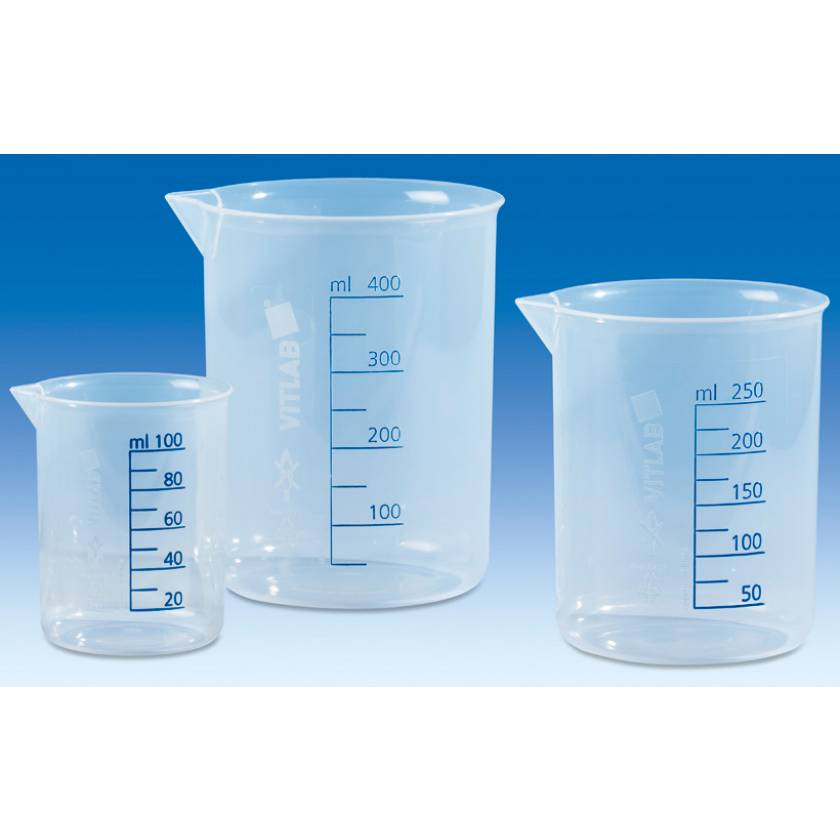 BrandTech VITLAB Griffin Beakers - Polypropylene (PP)