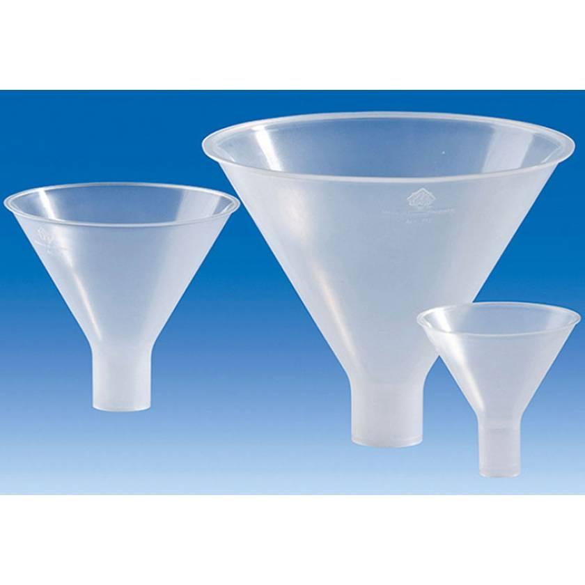 BrandTech Polypropylene Powder Funnels