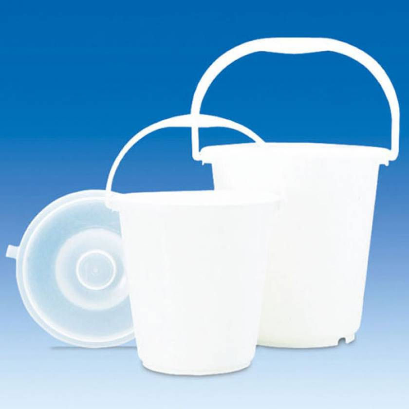 BrandTech High-Density Polyethylene (HDPE) Bucket with Handle