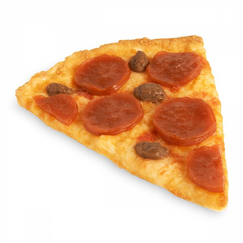 Life/form Pizza Food Replica - Sausage and Pepperoni