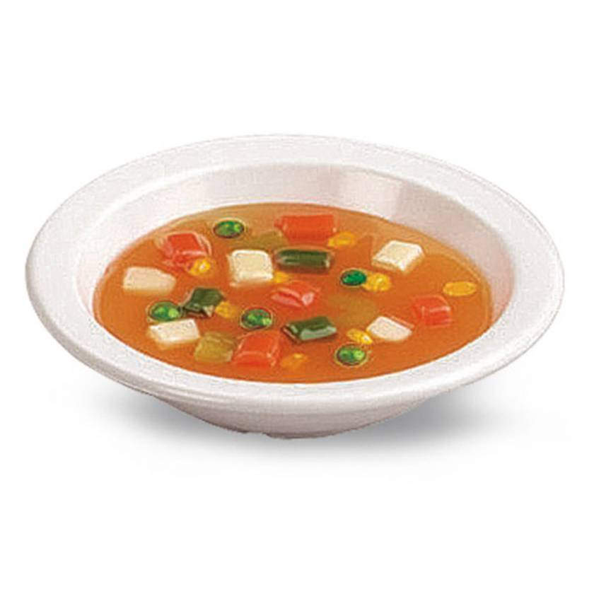 Life/form Vegetable Soup Food Replica - 1 cup (240 ml)