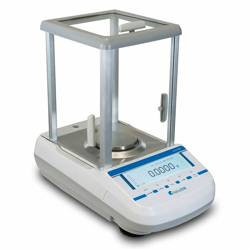 Benchmark W3101A-120 Accuris Analytical Balance Series Dx, Internal Calibration, Graphical Display, 120gx0.0001g