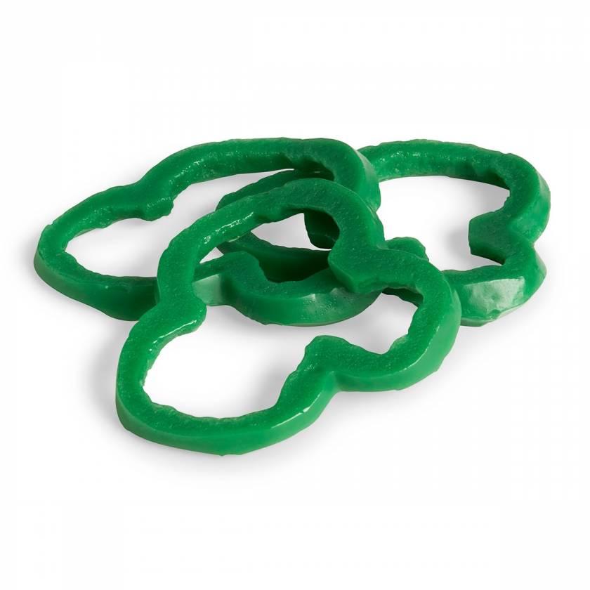 Life/form Pepper Rings Food Replica - Green