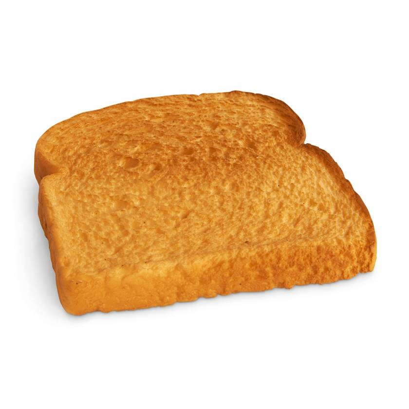 Life/form Bread Food Replica - Toasted White