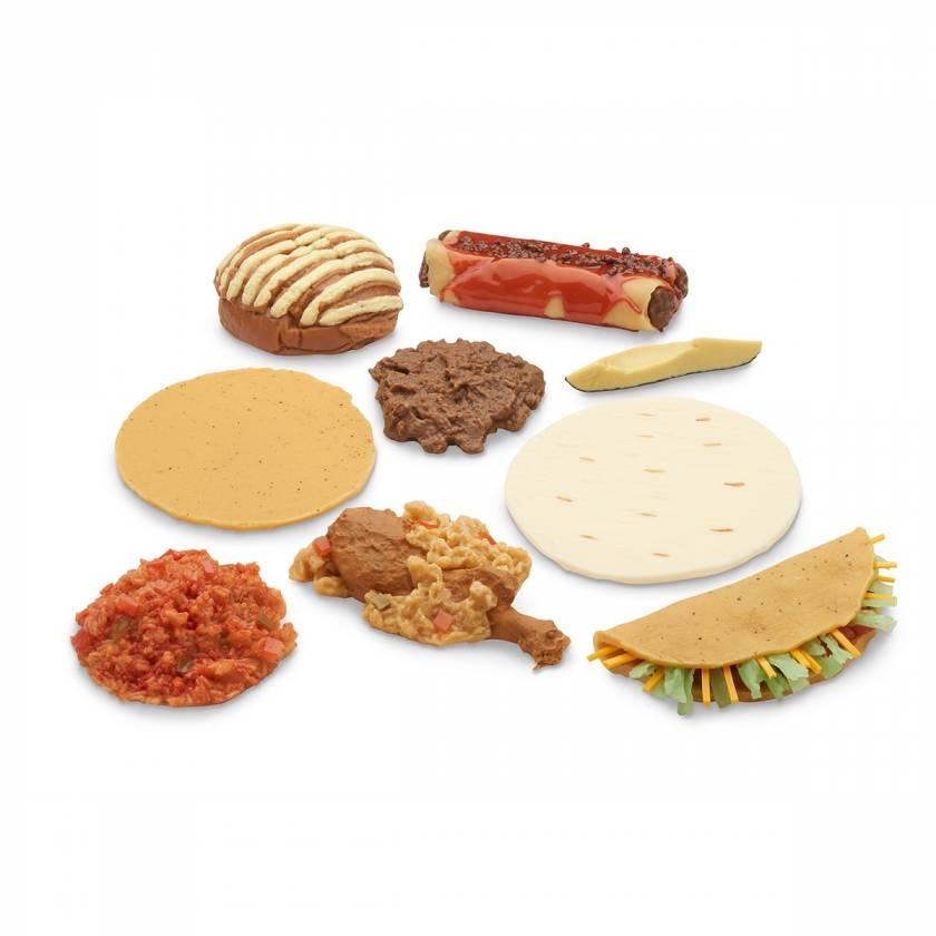 Life/form Mexican-American Ethnic Food Replica Set