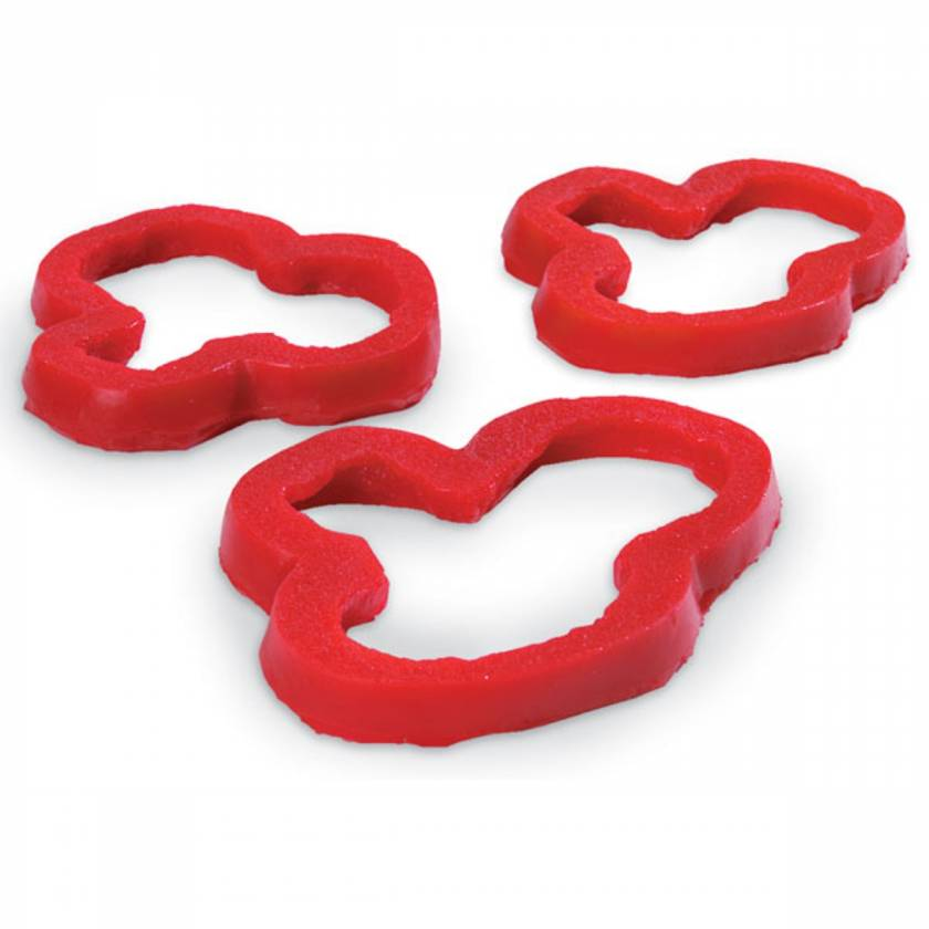 Life/form Pepper Rings Food Replica - Red