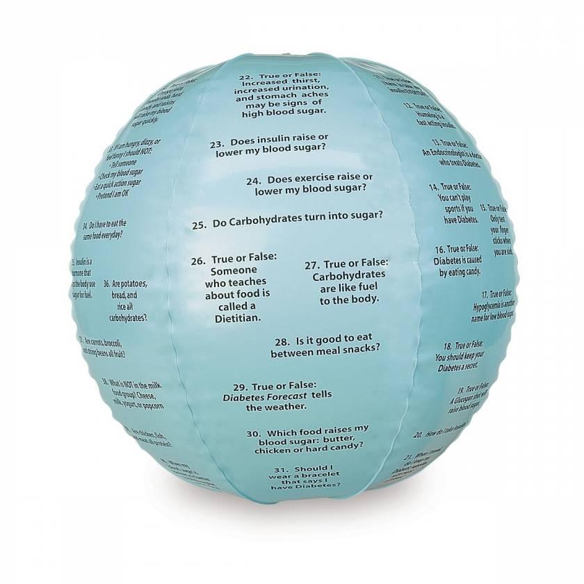 Life/form Diabetes Toss-Up Ball