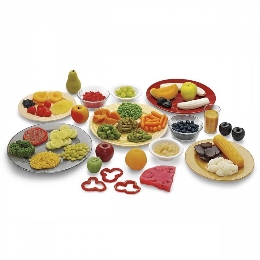 Life/form Fruit & Vegetable Rainbow Food Replica Kit