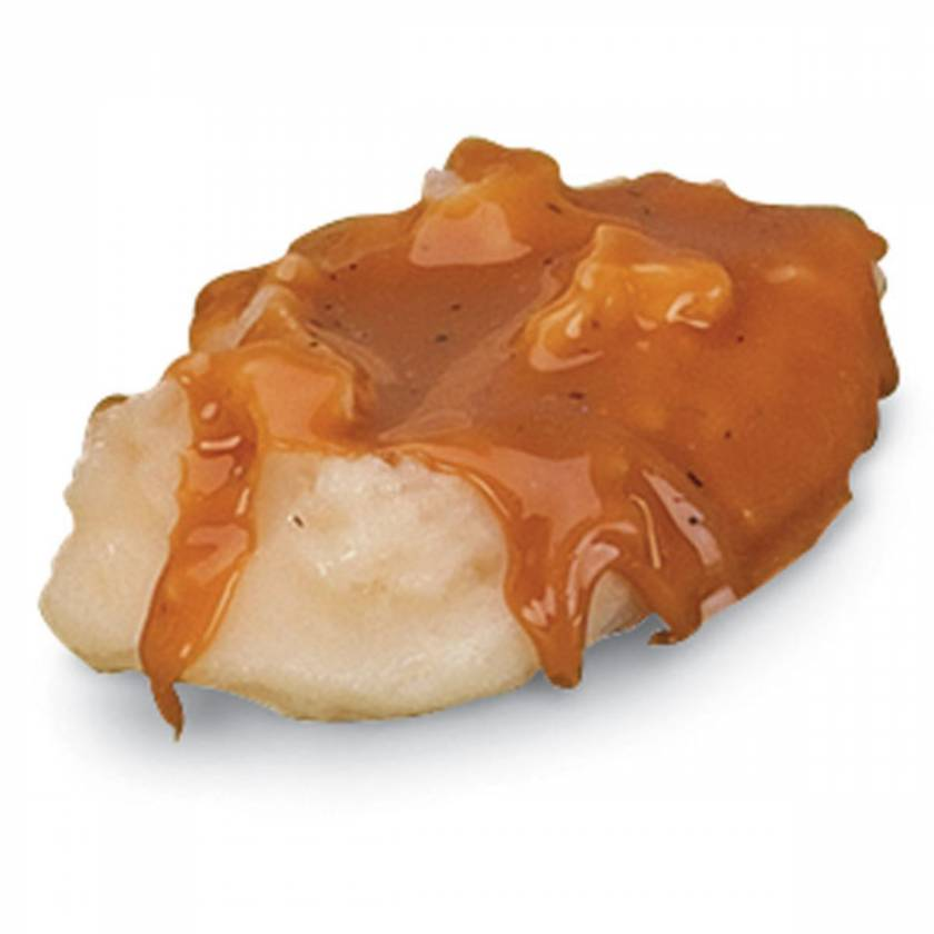 Life/form Potatoes Food Replica - Mashed with Gravy