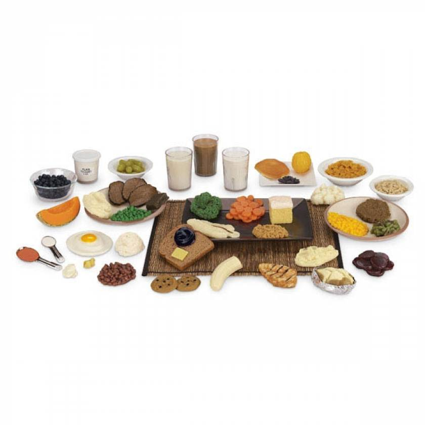 Life/form Carb Counting Food Replica Kit and TearPad